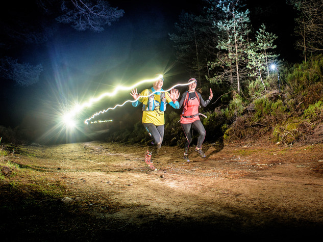 Night Trail Running Event Scotland