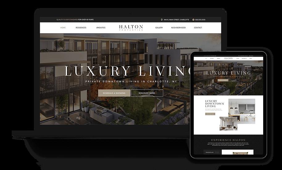 Halton Properties - Real Estate Development / Properties Template