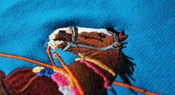 Horse Equestrian Embroidery
