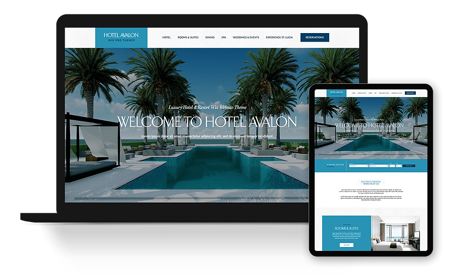 Hotel Avalon - Hotel Template