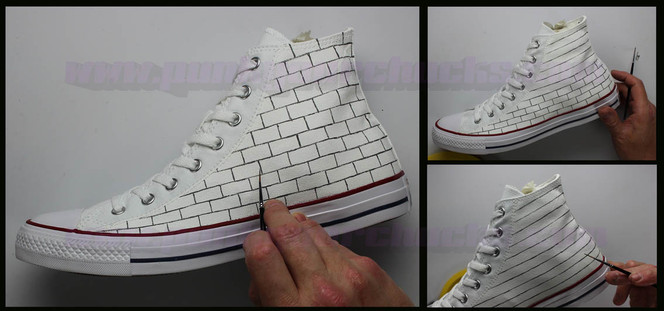 painting converse sneakers