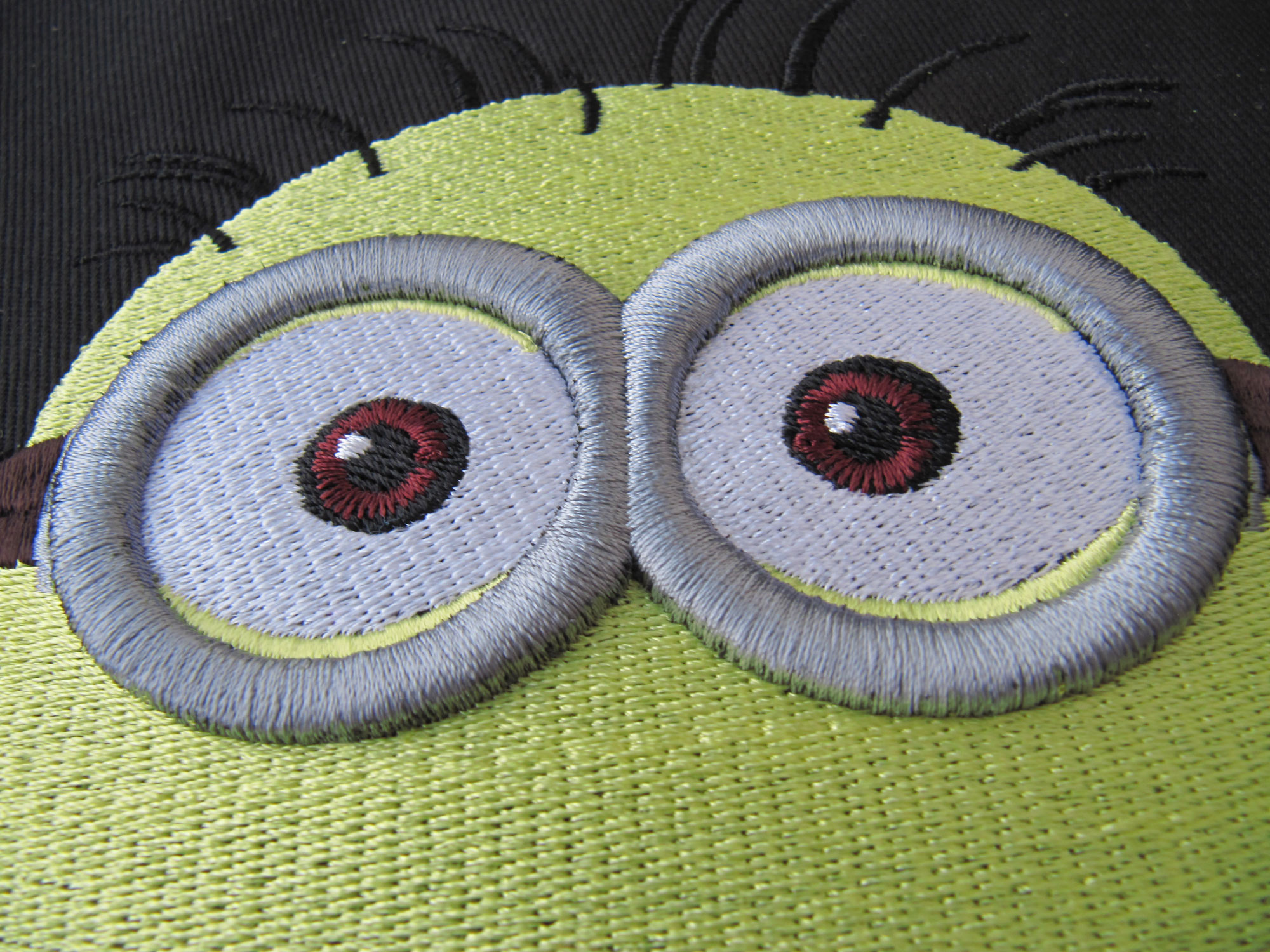 3D Embroidered Special Effect