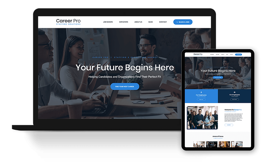 Career Pro - Job Search / Staffing Agency Template