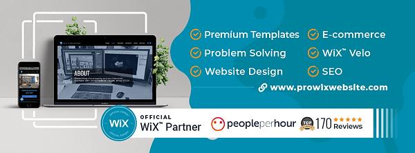 Wix Partner Professional Website Design