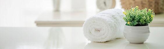 White Towel At Aline Health