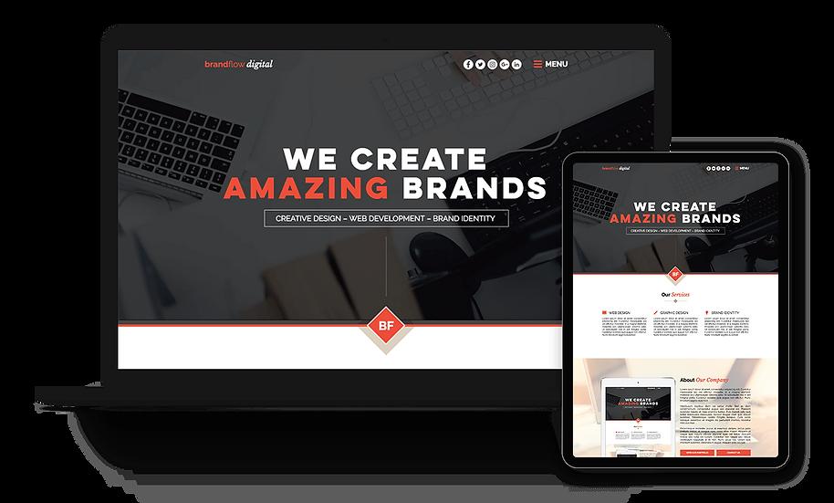 Brandflow Digital - Designer / Creative Template