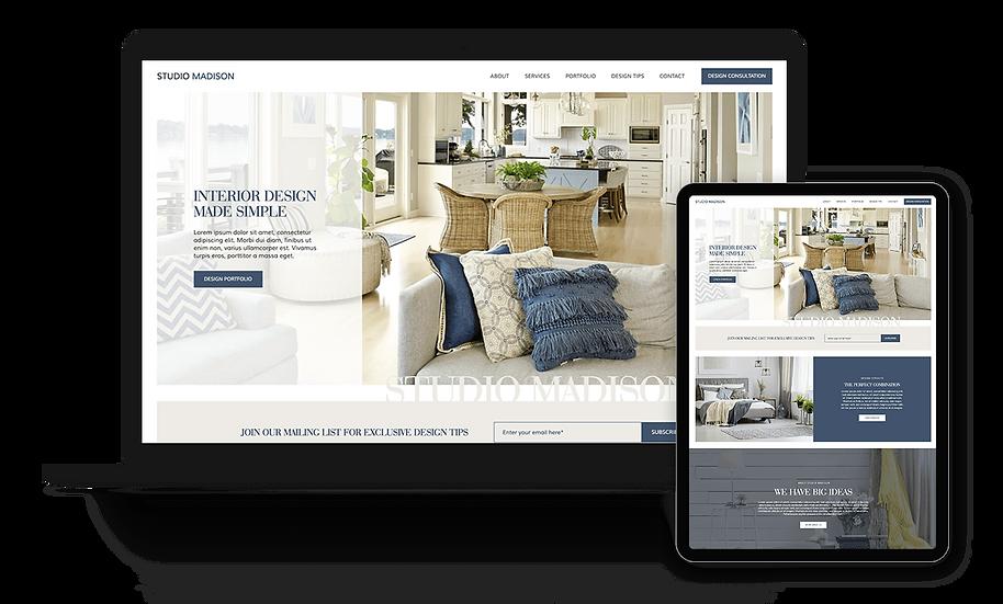 Studio Madison - Interior Design Template