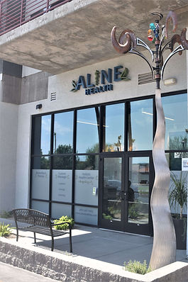 Aline Health Clinic Entrence