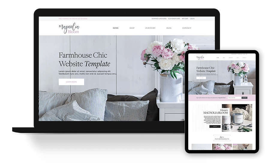 Magnolia Bloom - eCommerce / Online Store Template