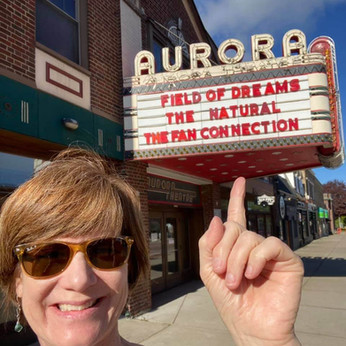 On the Aurora marquee