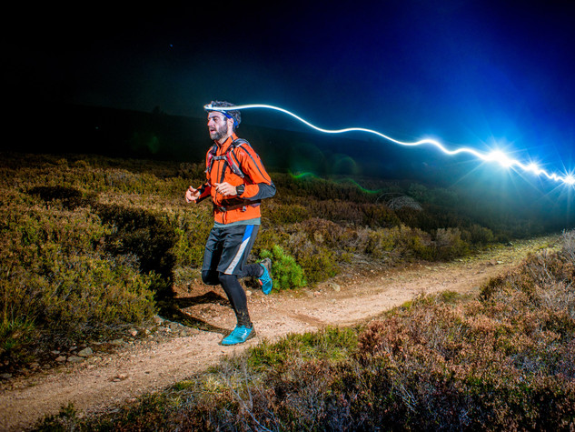 toughest night trail race Scotland