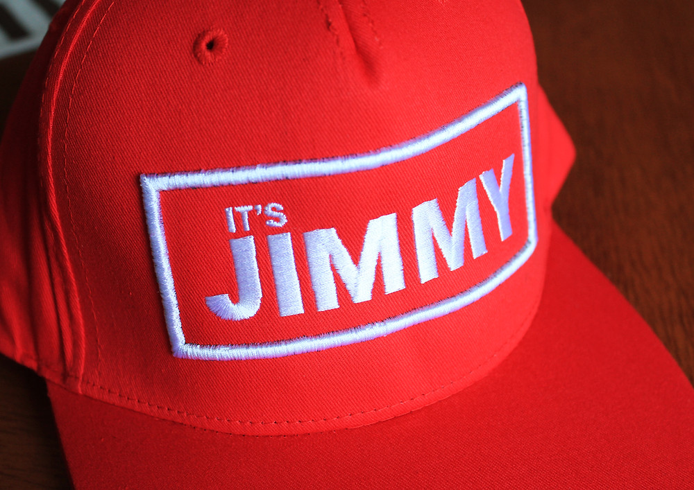 3D embroidered snapback cap