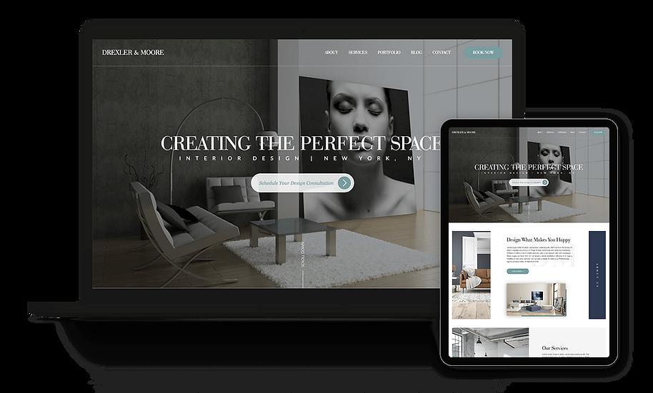 Drexler & Moore - Interior Design Template