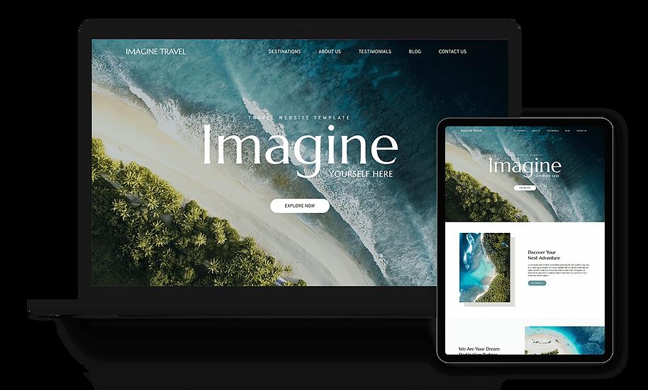 Imagine Travel - Travel Agency Template