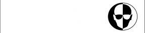 The Screen Community logo white text bor