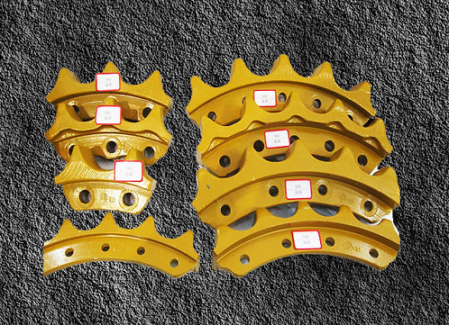 Sprocket Segment group - HYUNDAI - Excavators - R450LC- 3A/R450LC -7 0042 UP/R45
