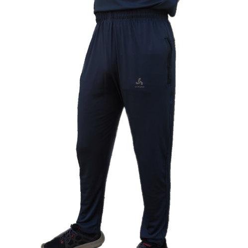 SHRUNS - Black Sports Track Pants