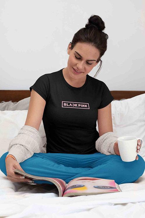 BlackPink Logo T-shirt - Women's Round Neck T-shirt