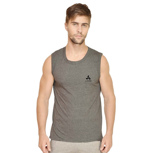 SHRUNS - Men's Cotton Sleeveless T-shirt