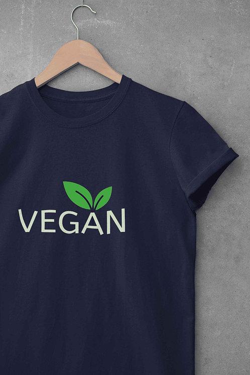 VEGAN - Round Neck T-Shirt