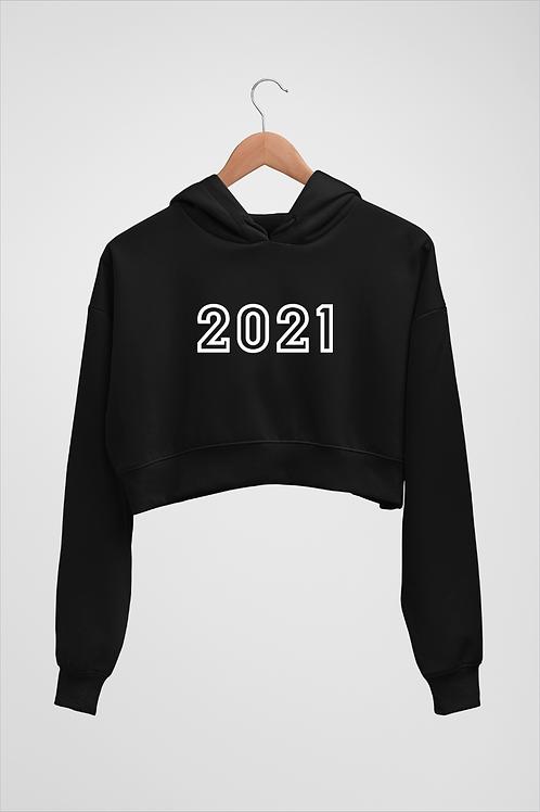 2021 - Women's Crop Hoodies