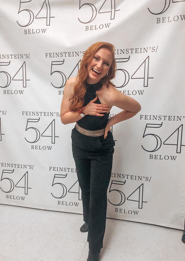 54 Below Debut!