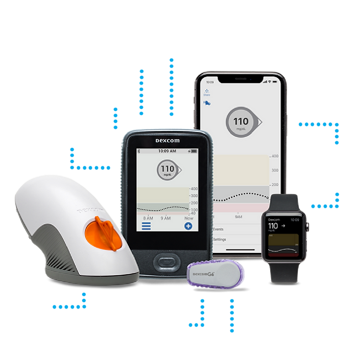 Dexcom G6 family sold by Pinnacle Medical Solutions