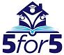 5 for 5 logo (June 2021).png