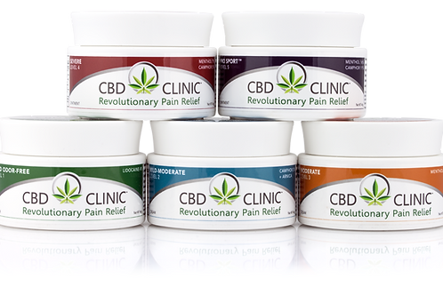 Level 1 CBD Clinic Pain Relief Cream