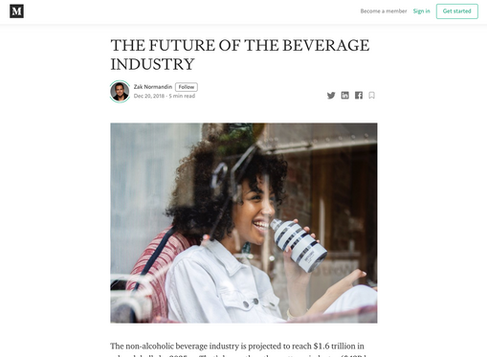 The Future of the Beverage Industry / Iris Nova Founder
