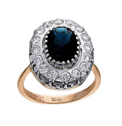 По мотивам кольца принцессы Дианы и Кейт Миддлтон.