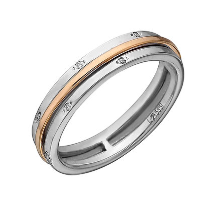 Крутящееся обручальное кольцо