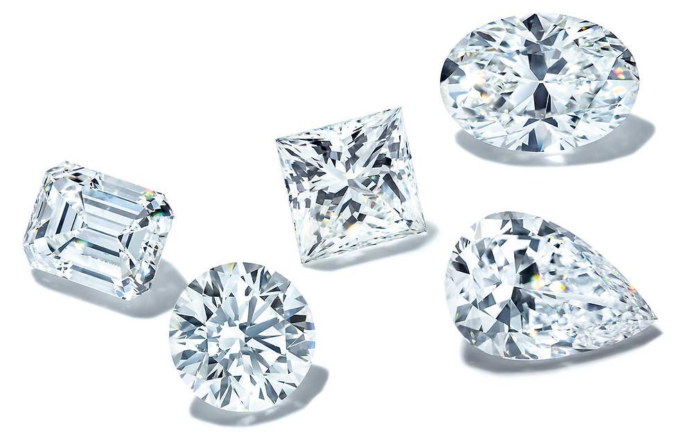 Бриллианты для помолвочного кольца