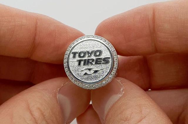 Корпоративное кольцо чемпиона