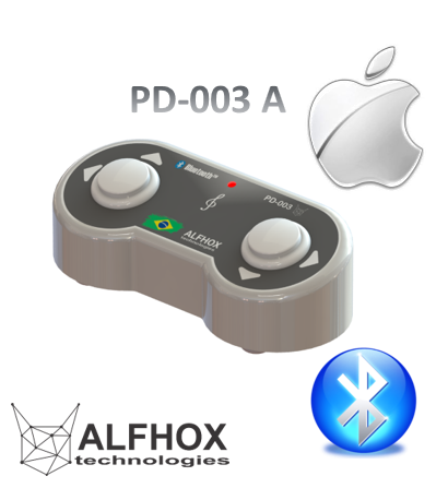 Pedal Passador de Cifras e Partituras ® Bluetooth -  IOS