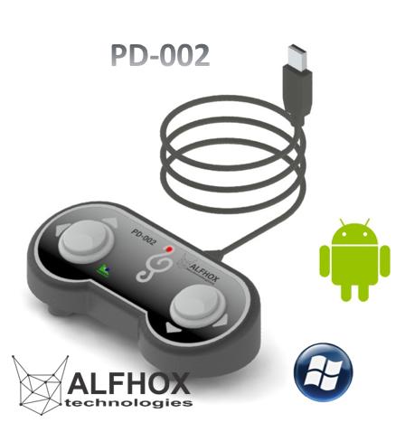 Pedal Passador de Cifras e Partituras® USB