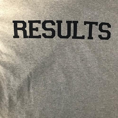 Results Grey Long Sleeve Tee