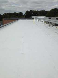 60 Mil PVC Over Office Roof