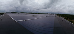Thin Film Solar with EPDM Base