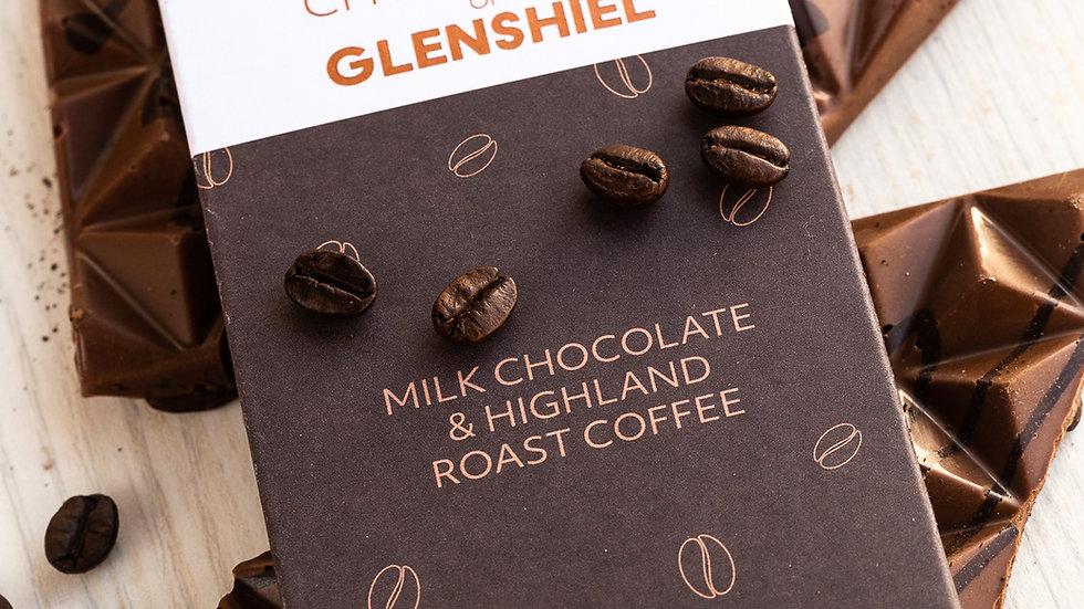 Highland Roast Coffee bar 70g