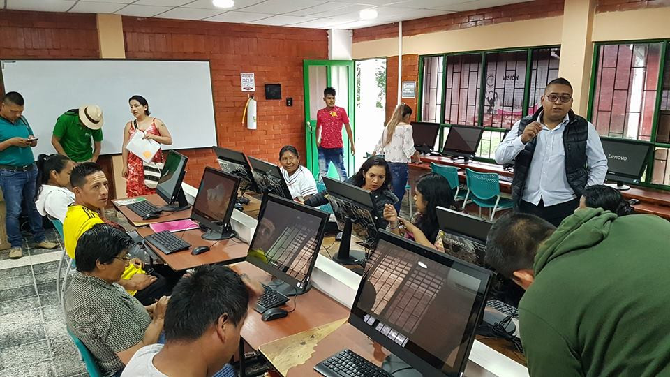Formación en Sistemas de Información. Mocoa, Putumayo.