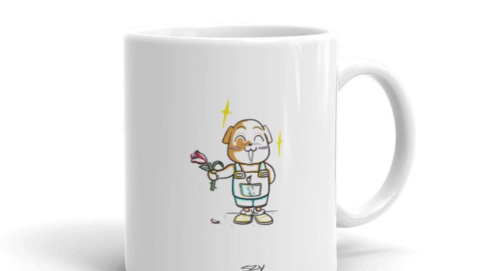 Rose - Mug Brillant - Drawfortalk