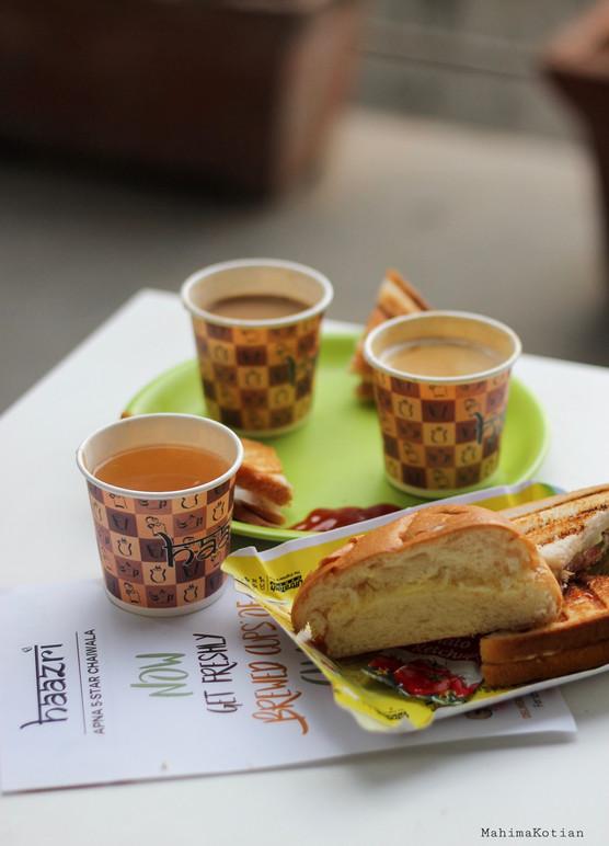 Haazri - Coffee, Chai and Maska Paav