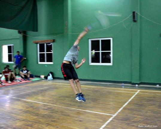 Naughtica Badminton Match -