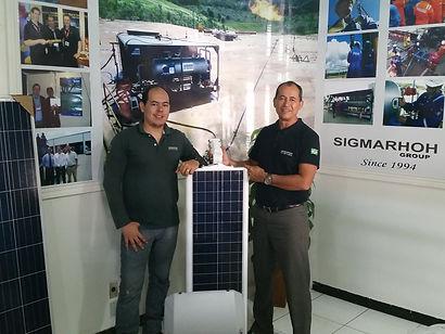Sandro Tojal e Yves Tojal
