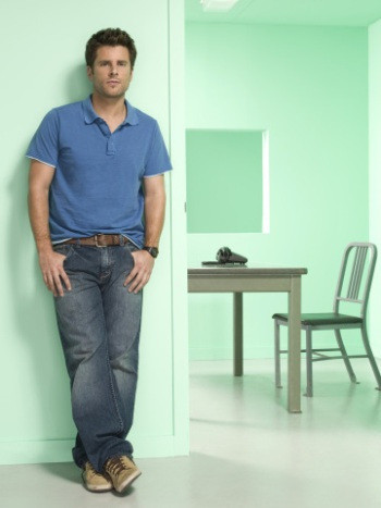 PSYCH -- Pictured: James Roday as Shawn Spencer -- USA Network Photo: Matthias Clamer