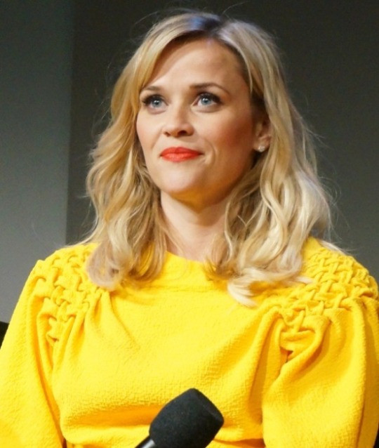 """Reese Witherspoon at the """"Wild"""" promotion at Apple Store, SoHo, New York.  Photo copyright 2014 Brad Balfour."""