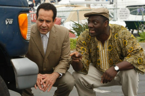 """MONK -- """"Mr. Monk and the Foreign Man"""" Episode 8007 -- Pictured: (l-r) Tony Shalhoub as Adrian Monk, x -- USA Network Photo: Hopper Stone"""