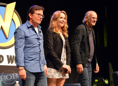 Michael J. Fox, Lea Thompson, Christopher Lloyd and Bob Gale – Gotta Get Back in Time to Back