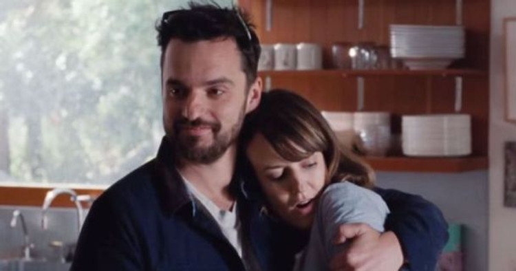 "Jake Johnson and Rosemarie DeWitt star in ""Digging for Fire."""